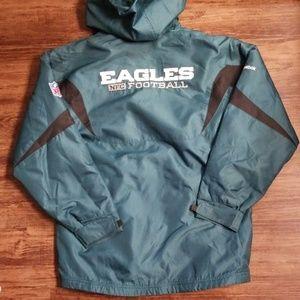Reebok On Field Philadelphia Eagles Youth Coat